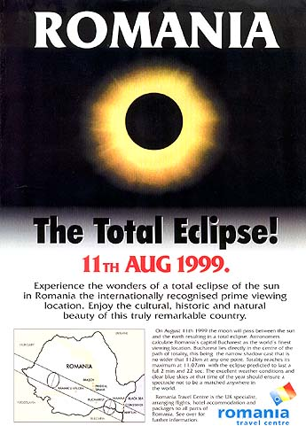 Romania makes the most of the eclipse