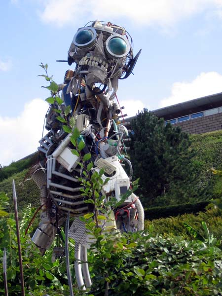 WEEE Man at the Eden Project, Cornwall