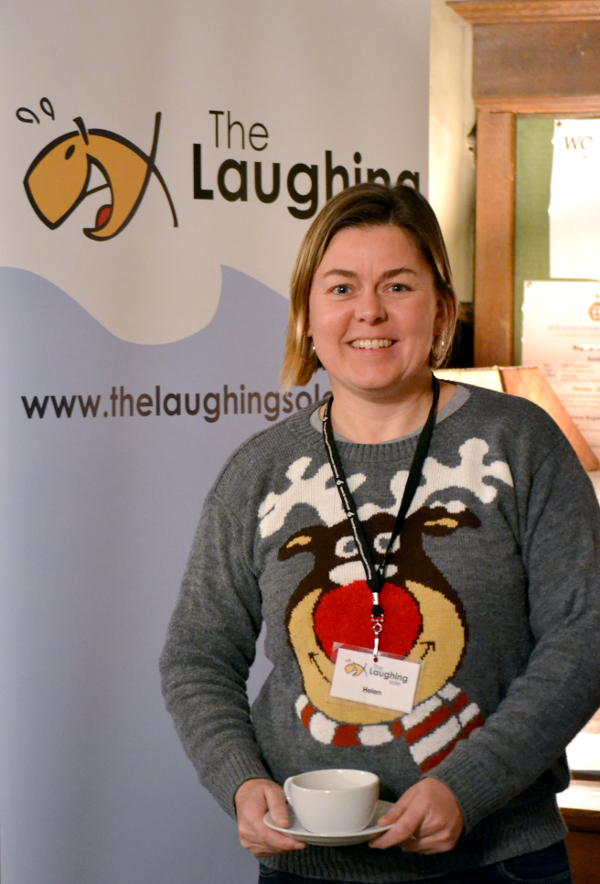 Helen Tomblin, wonderful organiser of a wonderful event