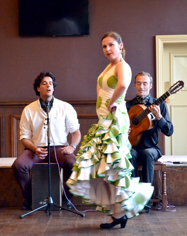 Flamenco trio