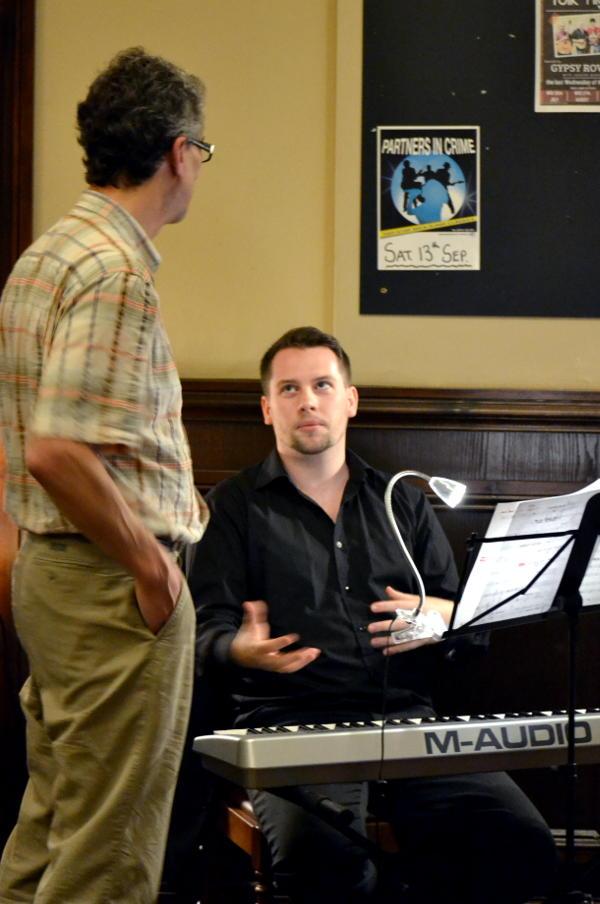 Pianist Tom Adamson