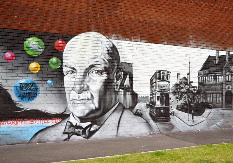 Sir William Cabdury: new artwork in Stirchley Park