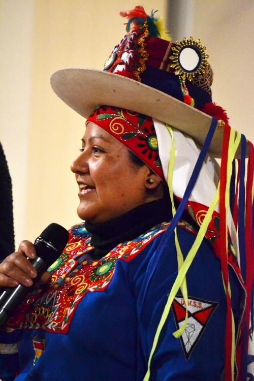 Bolivian costume