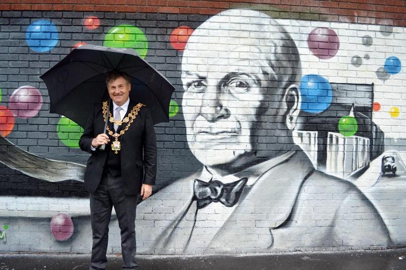 The Lord Mayor of Birmingham in Stirchley Park