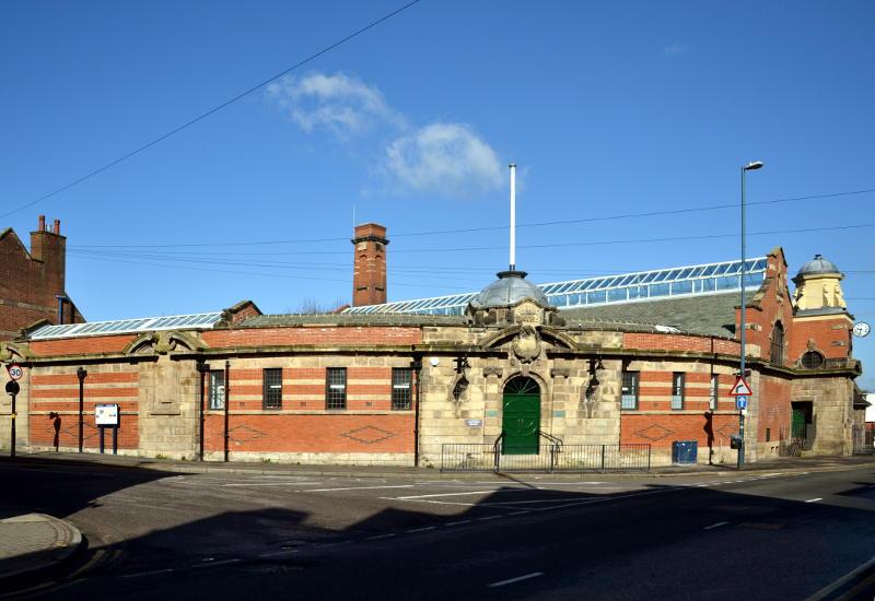 Exterior of Stirchley Baths