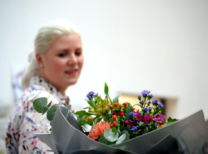 Flowers from Isherwood & Co