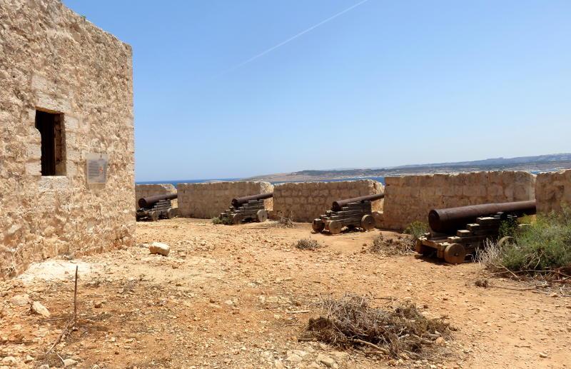 A deserted fort