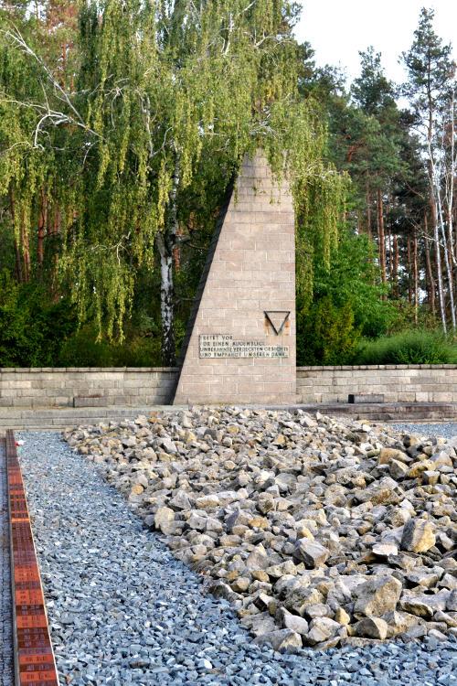 A stone memorial