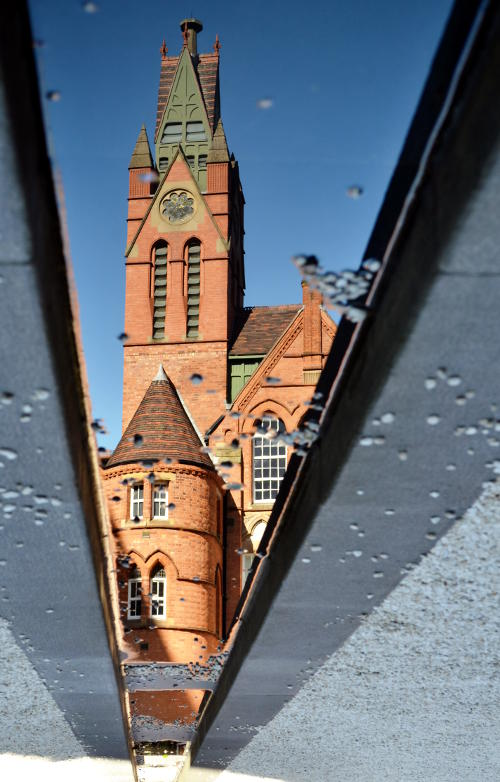 Reflection of the Ikon Gallery