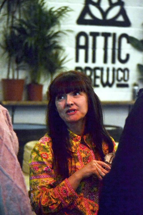 Comedian Jo Enright at Attic Brew Co